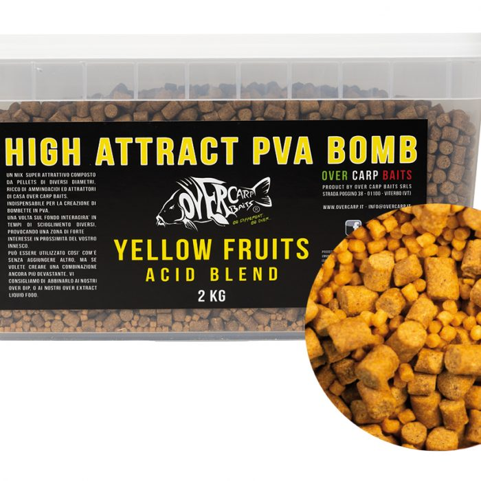 YELLOW FRUITS ACID BLEND PVA BOMB 2 Kg